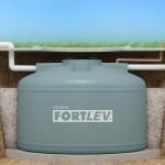 Cisterna enterrada